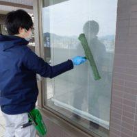 窓ガラスクリーニング
