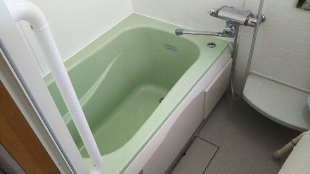 お風呂の掃除後