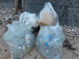 廿日市市鳴川海岸ゴミ